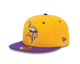 NFL Minnesota Vikings Two Tone 59Fifty Fitted Cap by New Era