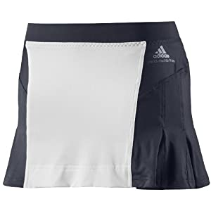 Adidas By Stella McCartney Ladies Barricade Tennis Skort Skirt - Navy by adidas