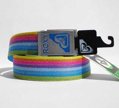 Roxi 82477 Surf Stripes Cintura Tessuto Con Righe Colorate Fibbia In Metallo
