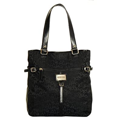 Kenneth Cole KN1129-08 Strap Happy Tote Bag (Black)