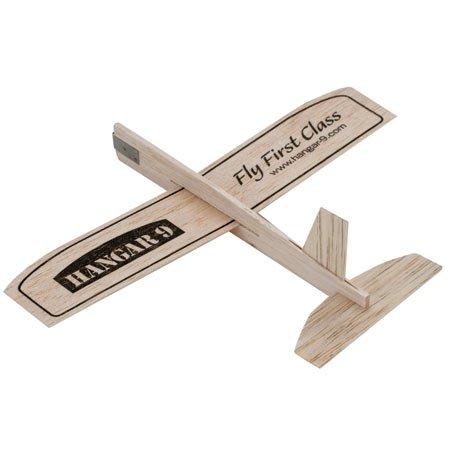 Hangar 9 Logo Balsa Wood Glider