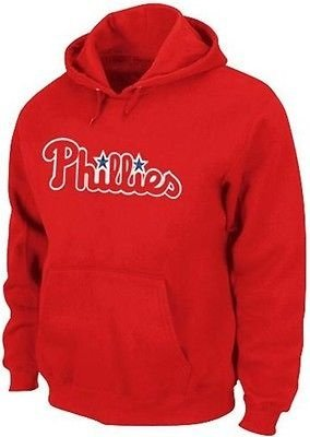 Philadelphia Phillies Majestic 300 Hitter Club Pullover Hoodie Big & Tall Sizes