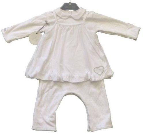 Absorba-Combirobe-Blanc-Coton-Biologique