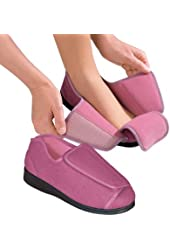 Womens Extra Extra Wide Width Adaptive Slippers - Diabetic