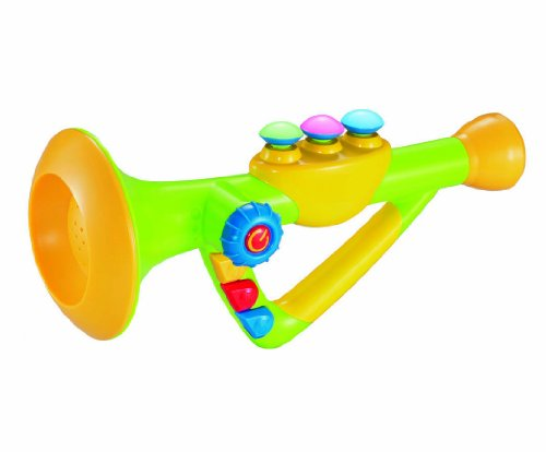 Musical Toy Trumpet : Quot musical toy trumpet instrument for kids with music and