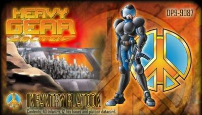 Heavy Gear: Peace River Infantry Platoon (40)