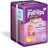 Huggies Pull Ups Nightime Potty Training Pants for Girls - Medium (11-18 kg), 12 x 3 Packs (36 Pants)