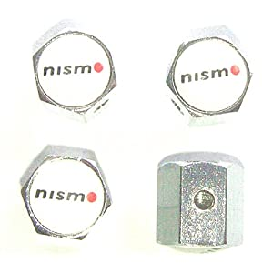 Nissan Nismo Anti-theft Car Wheel Tire Valve Stem Caps