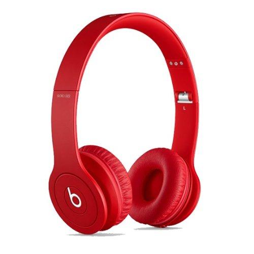【国内正規品】Beats by Dr.Dre Solo HD 密閉型オンイヤーヘッドホン マットレッド BT ON SOLOHD M-RED