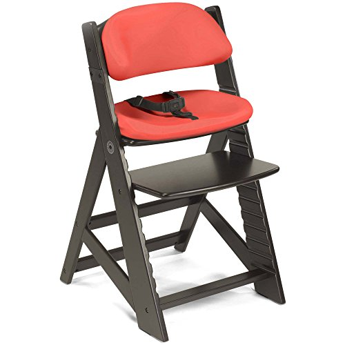 Review Of Keekaroo Height Right Kids Chair Espresso with Cherry Comfort Cushions, Espresso/Cherry