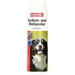Beaphar 79218 Zecken und Flohpuder für Hunde, 100 g
