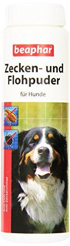 Artikelbild: Beaphar 79218 Zecken und Flohpuder für Hunde, 100 g