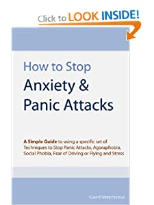 Stop Panic Attacks, Agoraphobia, Social Phobia, Fear of Driving or Flying and Stress