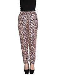 FLORAL SHANTOON TROUSERS