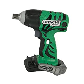 Bare-Tool Hitachi WR18DLP4 18-Volt Lithium-Ion Impact Wrench