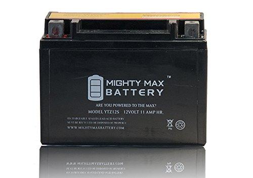 YTZ12S 12V 11AH Battery for Honda 750 VT750C, Shadow Spirit Aero 07-09 - Mighty Max Battery brand product (Honda Aero 750 compare prices)