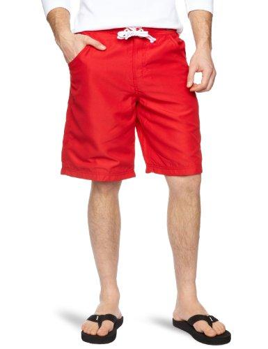 Le Breve Basic Swim Men's Swim Shorts Red X-Large