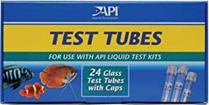 API Replacement Test Tubes with Caps (24 Count)