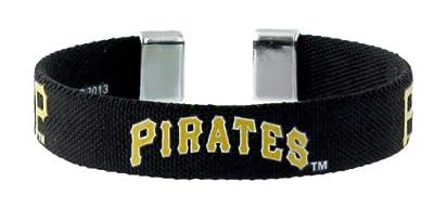 MLB Pittsburgh Pirates Ribbon Band Bracelet