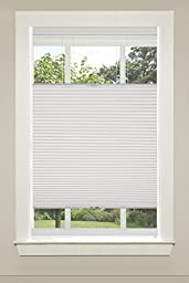 Achim Home Furnishings Top-Down Cordless Honeycomb Cellular Pleated Shade, 33 by 64\