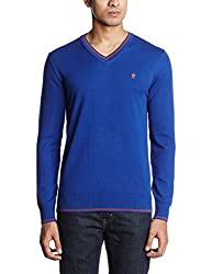 French Connection Men's V-Neck Cotton Sweatshirt (886928300442)