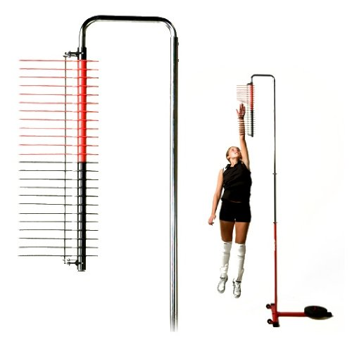 Telescoping Vertical Jump Assessment Pole On Casters