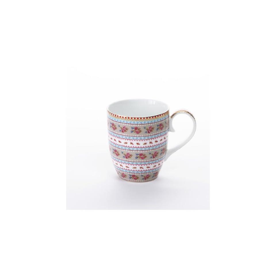 d2d710335ca Pip Studio Tasse Ribbon Rose, khaki Becher Kaffeetasse on PopScreen