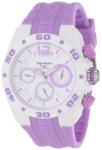 Montre Viceroy Real Madrid 432836-75 Mixte Blanc