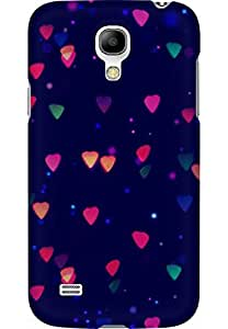 AMEZ designer printed 3d premium high quality back case cover for Samsung Galaxy S4 Mini (lights abstract)