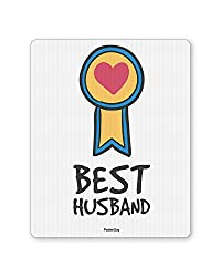 PosterGuy Best Husband Valentine's Day Love Mousepad