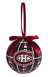 100mm LED Ball Ornament, Montreal Canadiens