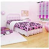 Rack Furniture Lindsay Twin Bed, Pink