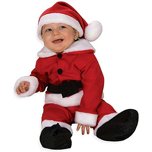Fleece Santa Suit Deluxe Infant Costume