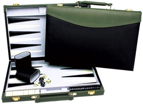 15 Inch Backgammon Black/Green - Buy 15 Inch Backgammon Black/Green - Purchase 15 Inch Backgammon Black/Green (Wood Expressions, Toys & Games,Categories,Games,Board Games,Checkers Chess & Backgammon)