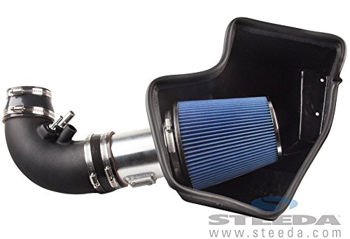 Steeda 555-3194 Proflow Cold Air Kit (15-16 Mustang GT) (Steeda Cold Air Intake Mustang compare prices)