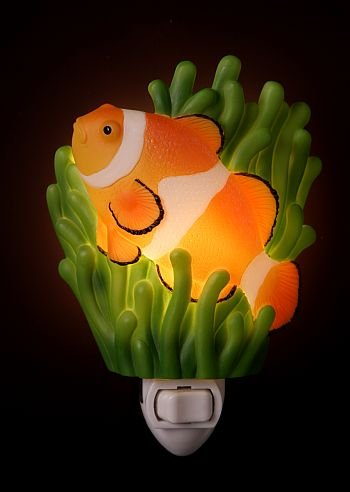 Ibis & Orchid Clown Fish Night Light #50025