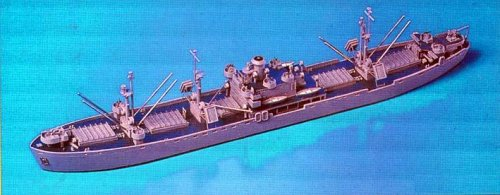 Skywave 1/700 WWII US Navy Cargo Ship Liberty AK99 Bootes Model Kit