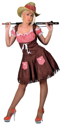 Funny Fashion Hillbilly Beauty Cowgirl Adult Costume
