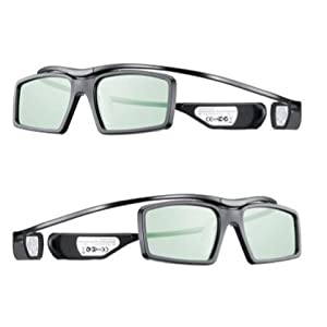 Pair of 2 Samsung 3D Active Glasses works for All UN46ES8000 UN55ES8000 UN60ES8000 UN65ES8000 UN46ES7500 UN55ES7500 UN60ES7500 UN32ES6500 UN40ES6500 UN46ES6500 UN50ES6500 UN55ES6500 UN60ES6500 UN65ES6500 UN46ES7100 UN55ES7100 UN60ES7100 UN40ES6580 UN46ES6580 UN50ES6580 UN55ES6580
