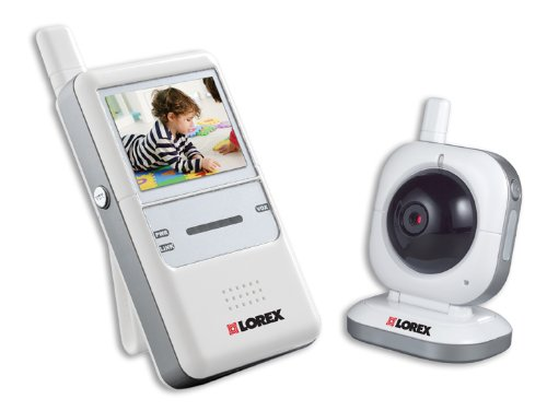 Lorex Lw2001 Digital Wireless Portable Color Lcd Surveillance System (White) front-66886