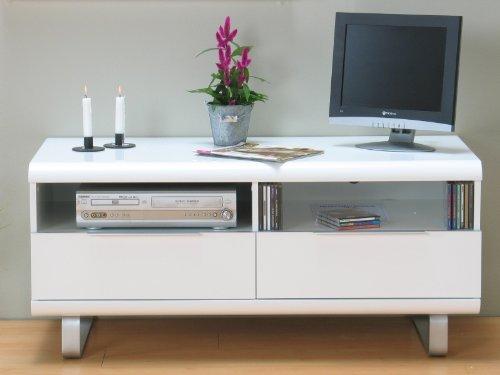 milano tv m bel 120x54x55 cm weiss hochglanz tv. Black Bedroom Furniture Sets. Home Design Ideas