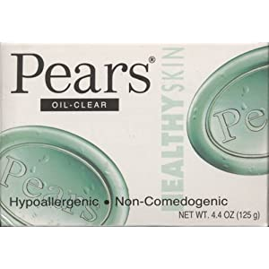 Pears Oil-Clear Hypoallergenic Non-Comedogenic 4.4 oz ( Pack of 2)