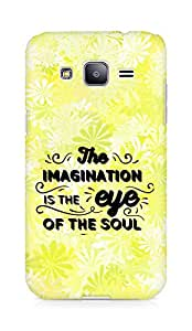 Amez The Imagination is the Eye of the Soul Back Cover For Samsung Galaxy J2