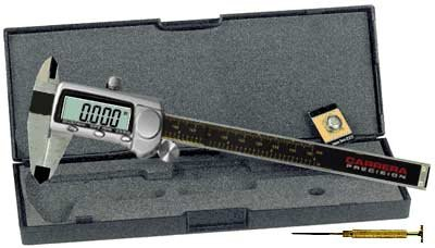 Carrera Precision CP8806-T 6-Inch Stainless Steel Digital LCD Caliper Micrometer