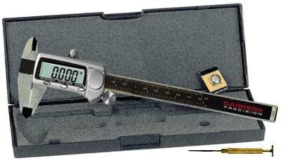 "Carrera Precision 12/"" Titanium Fractional Digital Caliper Micrometer CP9812-TF"