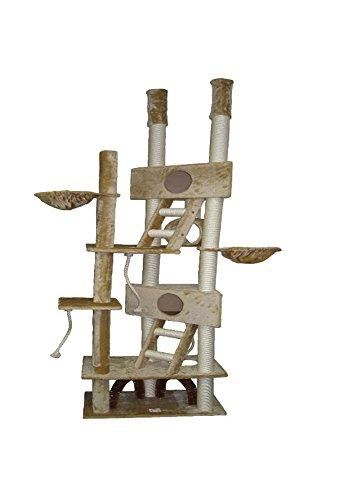 Go Pet Club Huge Cat Tree, Beige