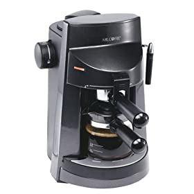 Mr. Coffee ECM250 4-Cup Espresso/Cappuccino Maker