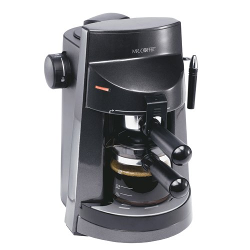 Mr. Coffee ECM250 4-Cup Espresso/Cappuccino Maker