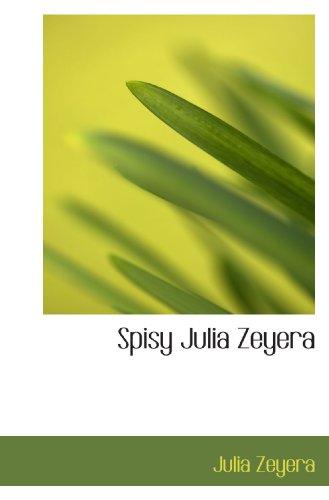 Spisy Julia Zeyera