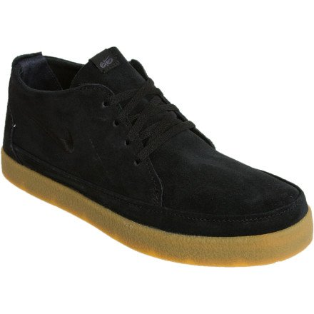 Nike 6.0 Rizal Low Shoe - Men's Black/Gum/Black, 9.0
